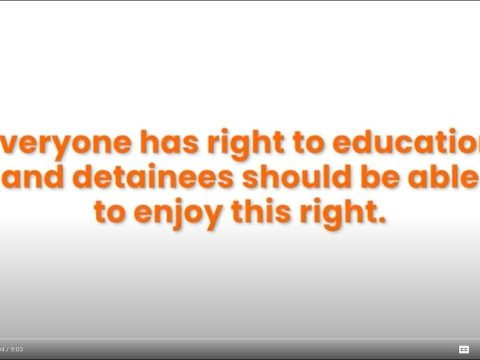 Making the case for education in prison (CUP video IO1)